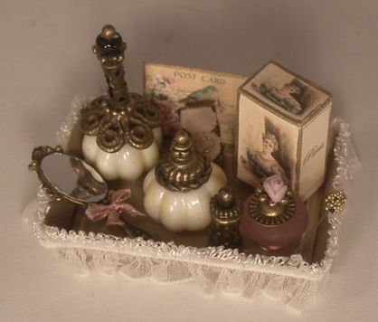 Perfume Tray #1 by Manuela Herbst