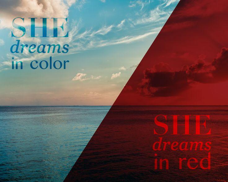 She dreams in color she dreams in red #pearljam