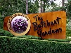 Buchart Gardens, in Victoria CA