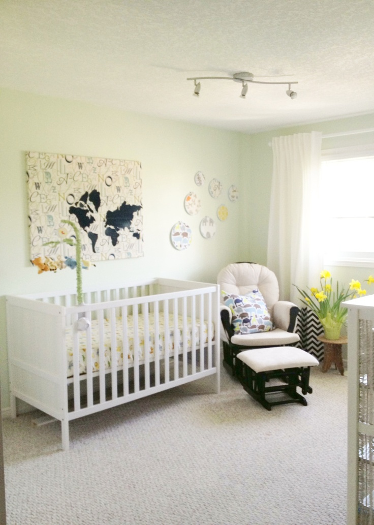 Navy And Green Nursery By Sketchstyles Diy Decor Sketchy Styles My Projects Pinterest