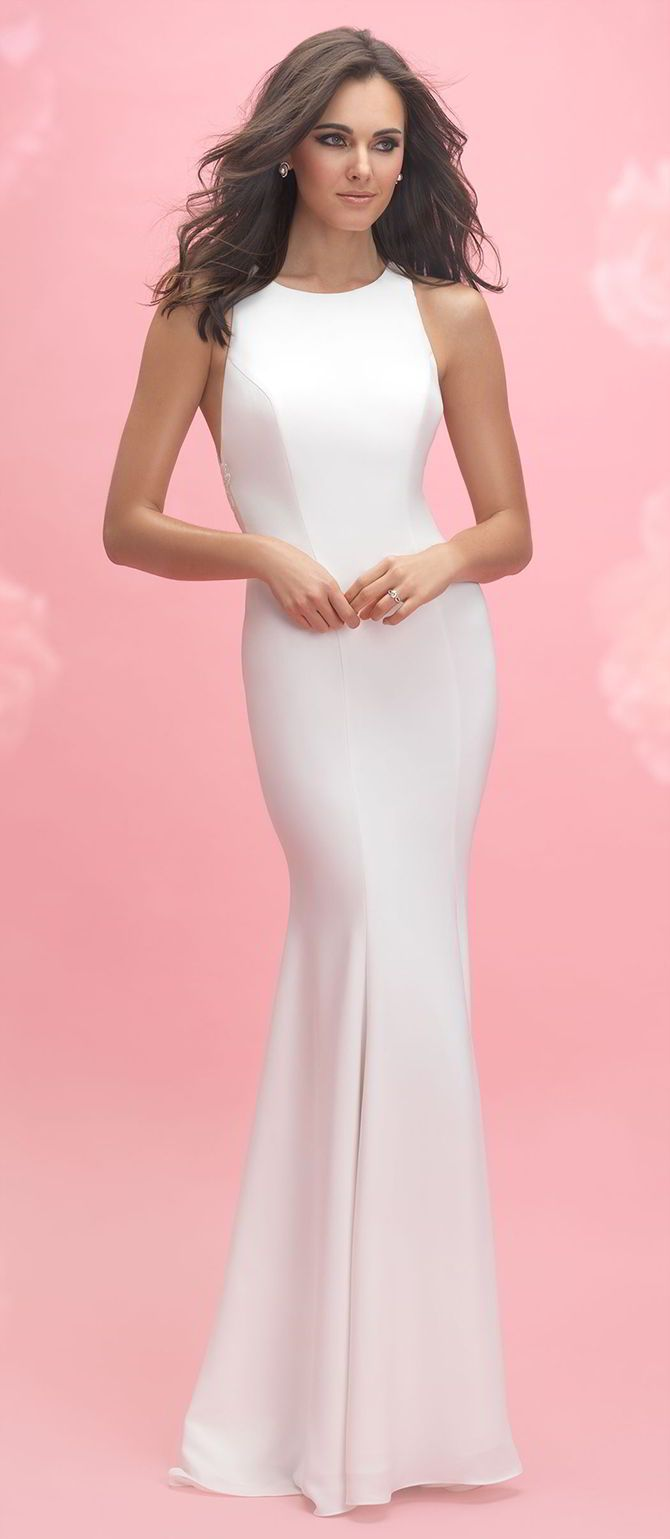 238 best Sheath Wedding Dresses images on Pinterest | Homecoming ...