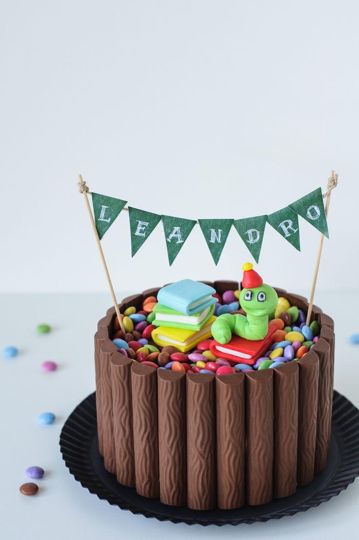 ~ Chocolate M&M Cake ~