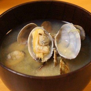 簡単レシピ - 旨味濃厚なあさりの味噌汁の作り方 - drk7jp