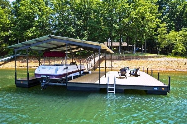 Steel Boat Dock Custom Built Dock Floating Dock Boat