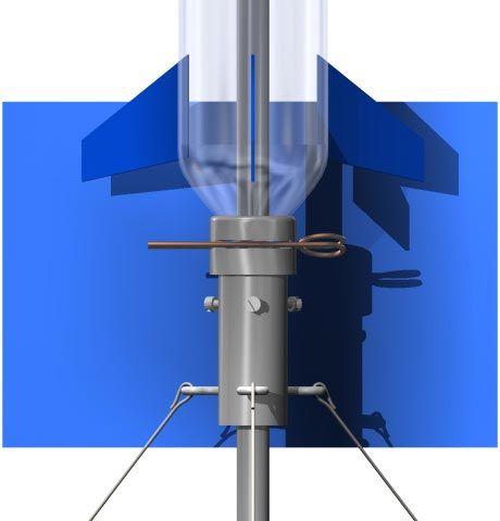 Water rocket launcher - Kamiel Martinet