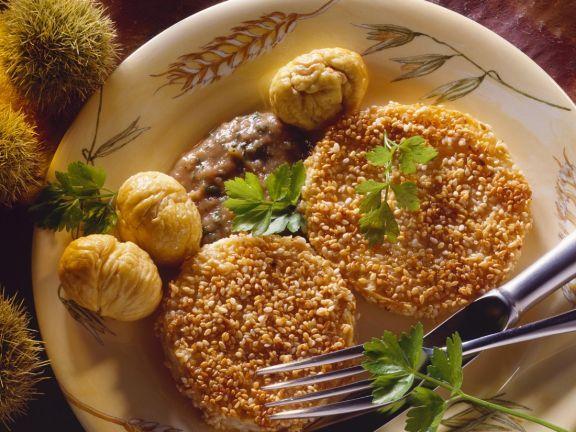 Sesam-Sellerieschnitzel ist ein Rezept mit frischen Zutaten aus der Kategorie Wurzelgemüse. Probieren Sie dieses und weitere Rezepte von EAT SMARTER!