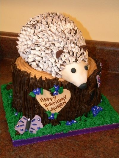 African Pygmy Hedgehog By lilmansmum on CakeCentral.com