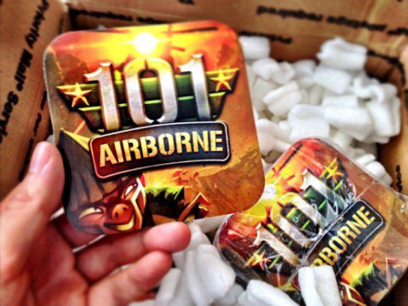 35 Contoh Desain Sticker Sebagai Media Promosi yang Efektif - 23. 101 Airborne Stickers by Michael Flarup