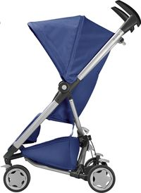 Quinny Buggy Zapp Xtra 2.0 blue base - € 249 - opgeplooid 34 cm