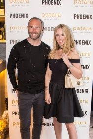 Kevin McBride and Naomi Isted at the PHOENIX relaunch influencer's dinner