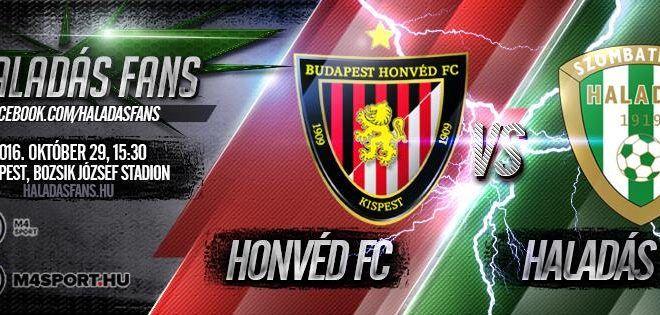 Budapest Honvéd-Szombathelyi Haladás 2-1 (2-1)