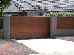 Image result for sliding driveway gates with pedestrian access