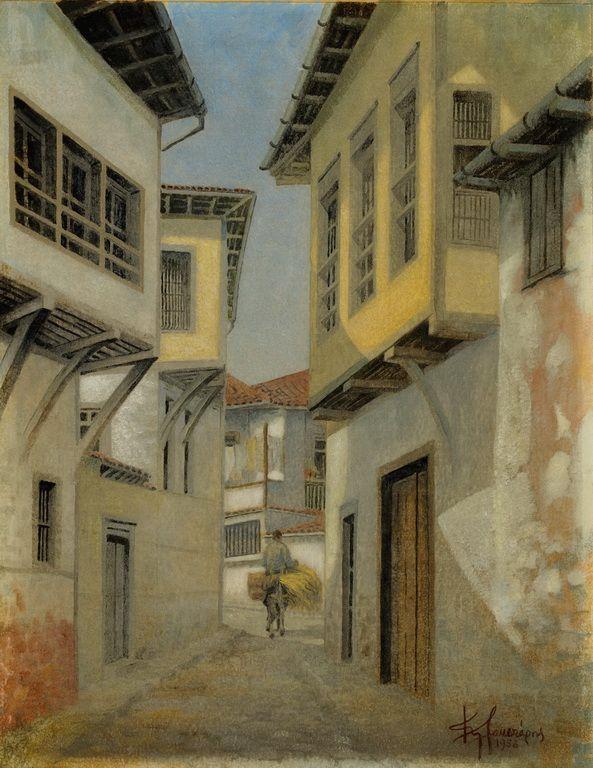 Πλακωτάρης Κώστας-Δρόμος στη Νάουσα-1958