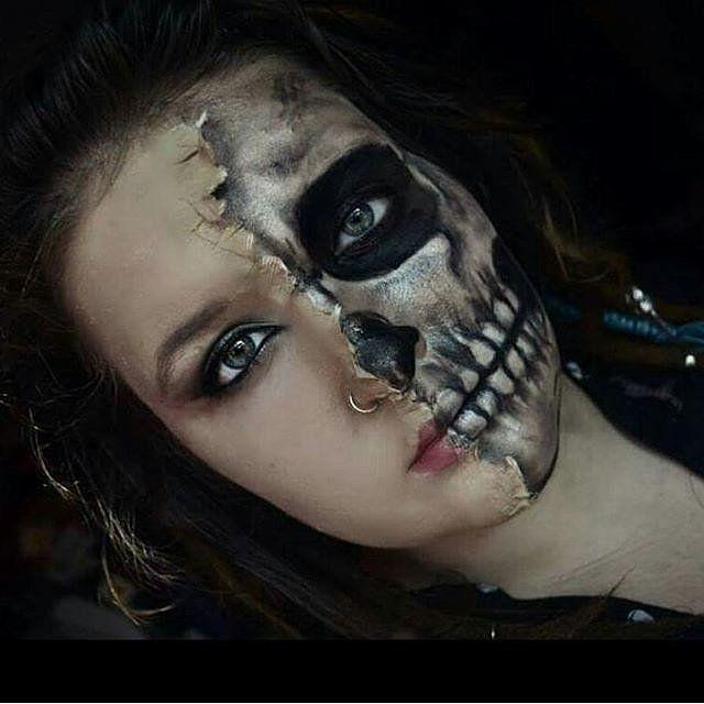 32 Skeleton Makeup Transformations For a Halloween Beyond the Grave | POPSUGAR Beauty UK