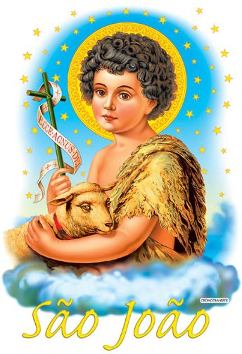 """São João Batista 24 de Junho """"O Precursor do Messias"""" """"E tu, menino serás chamado de Profeta do Altíssimo, pois irás adiante do Senhor preparar-lhe os ... Visitar página"""