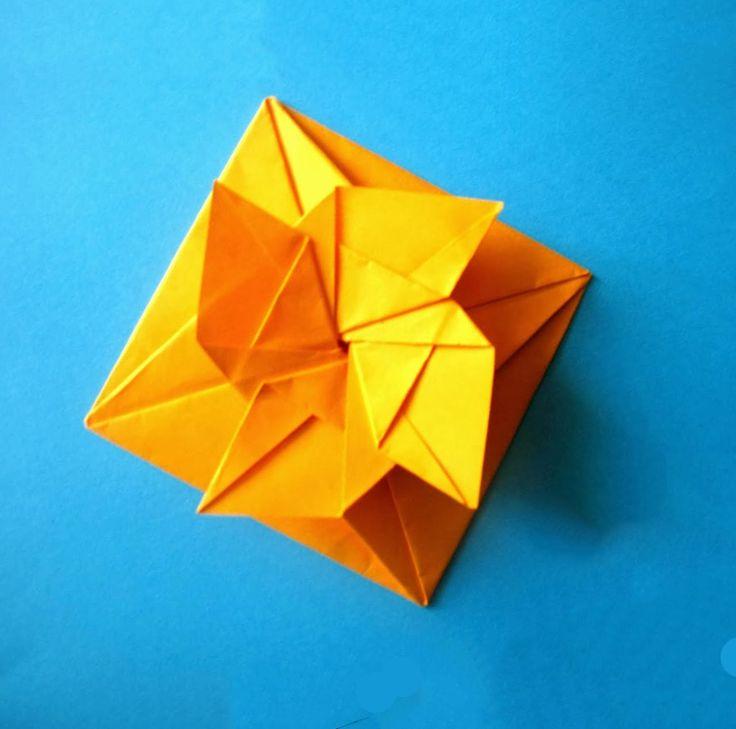 Origami gift envelope. Подарочный конверт. Оригами