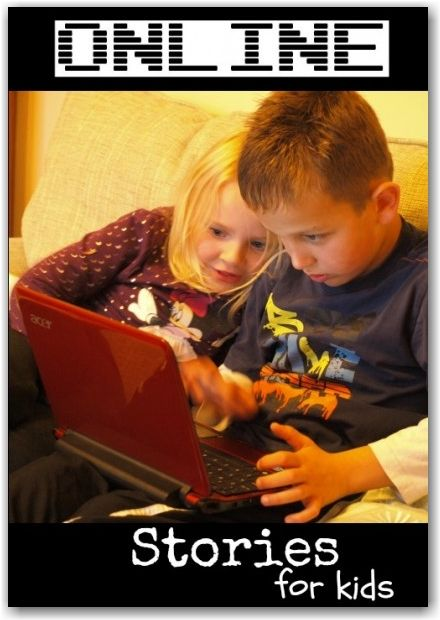 10+ FREE places to find online stories for kids - great for reluctant readers or those who love technology