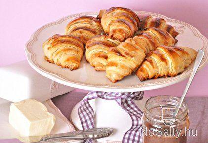 Házi vajas croissant