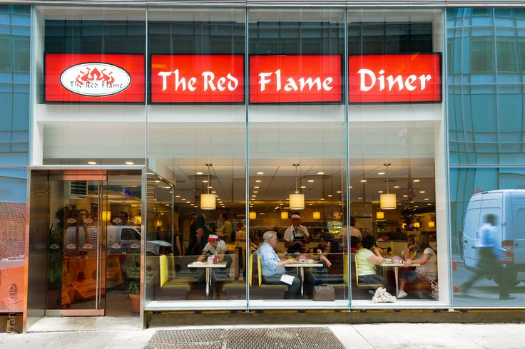 The Red Flame Diner in Midtown West