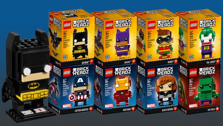 LEGO Brickheadz are Arriving in Singapore on March 11 2017 | Geek Culture