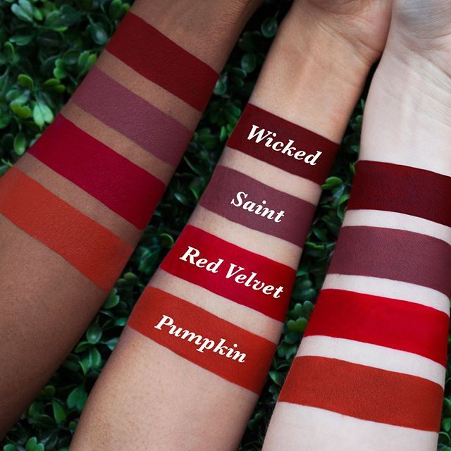 Wicked vs. Saint vs. Red Velvet vs. Pumpkin limecrime