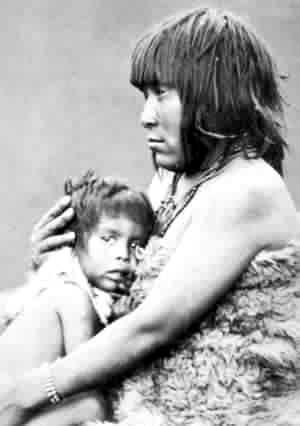 Yamana Canoe Indians, Tierra del Fuego