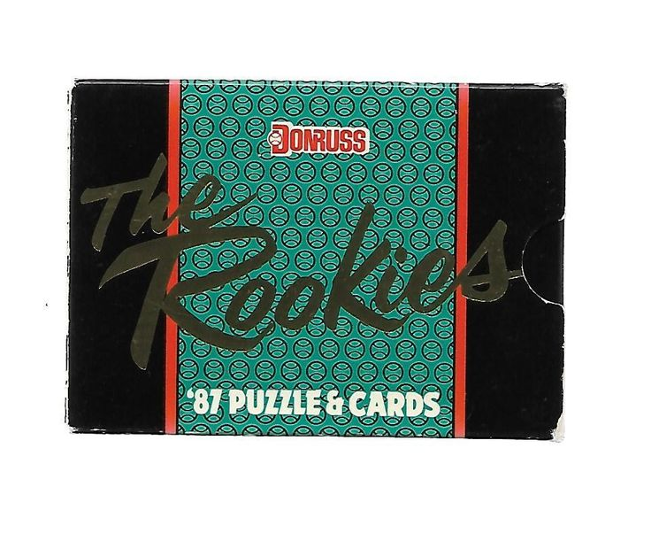 1987 donruss the rookies boxed complete baseball set