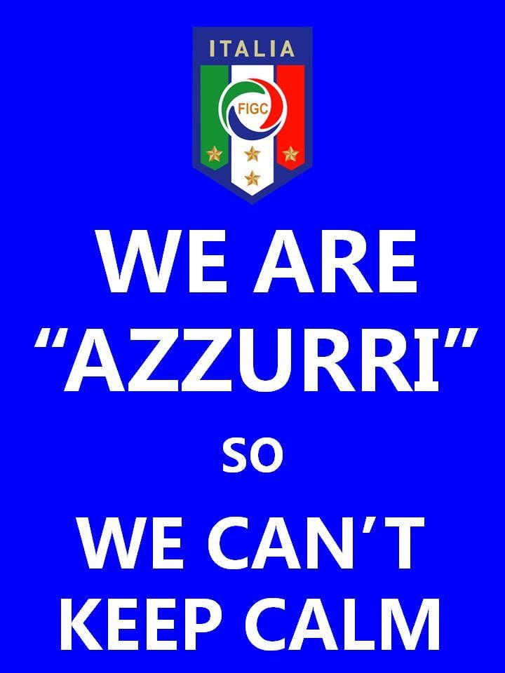 Keep calm  - azzurri