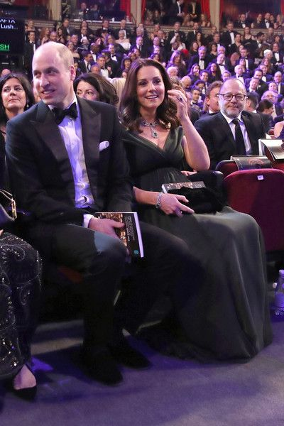 Kate Middleton Photos - Catherine, Duchess of Cambridge attends the EE British Academy Film Awards (BAFTA) held at Royal Albert Hall on February 18, 2018 in London, England. - The Duke and Duchess of Cambridge Attend the EE British Academy Film Awards