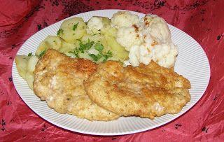 W Mojej Kuchni Lubię.. : czosnkowe kotlety z piersi na obiad...