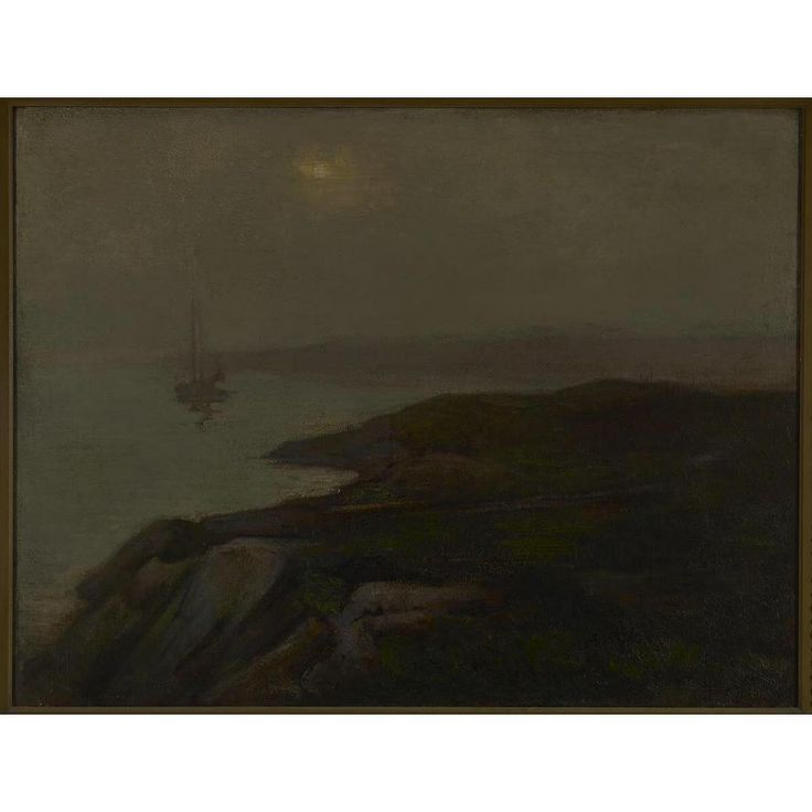 Happy May? It's quite a foggy, grey and rainy day in Toronto so this work seemed to be fitting....☔️🌫  •  Curtis Williamson. Misty Morning, Newfoundland, c.1906. Oil on canvas. Gift from the Reuben and Kate Leonard Canadian Fund, 1926. Image © 2017 Art Gallery of Ontario  •  #weather #art #torontoweather #torontofog #oiloncanvas #canadianart #canadianartist #mist #newfoundland #nfld #newfoundlandweather