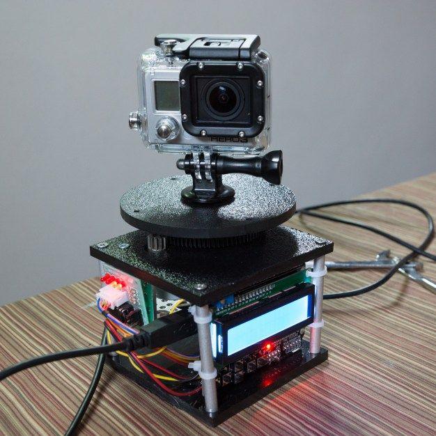 DIY GoPro Arduino Camera Panning Rig