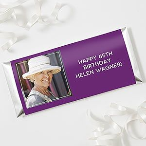 Photo Personalized Candy Bar Wrappers - 1 photo