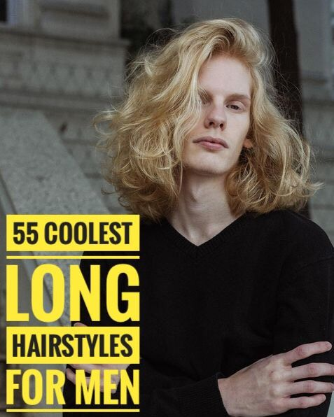 55 Coolest Long Hairstyles for Men #hair #hairstyle #menhair #menhairstyle #menh …