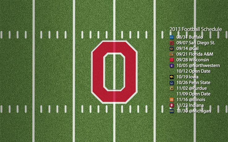 Ohio State Football Roster 2013 | Ohio State Buckeyes Wallpaper Collection | Sports Geekery