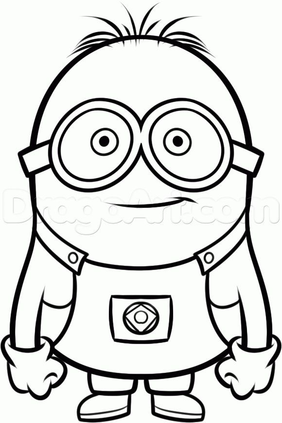 The Despicable Me 2 Coloring Pages Called Minion To Now Available A Page This Funny Character Is One Of Grus Minions In Gru Film
