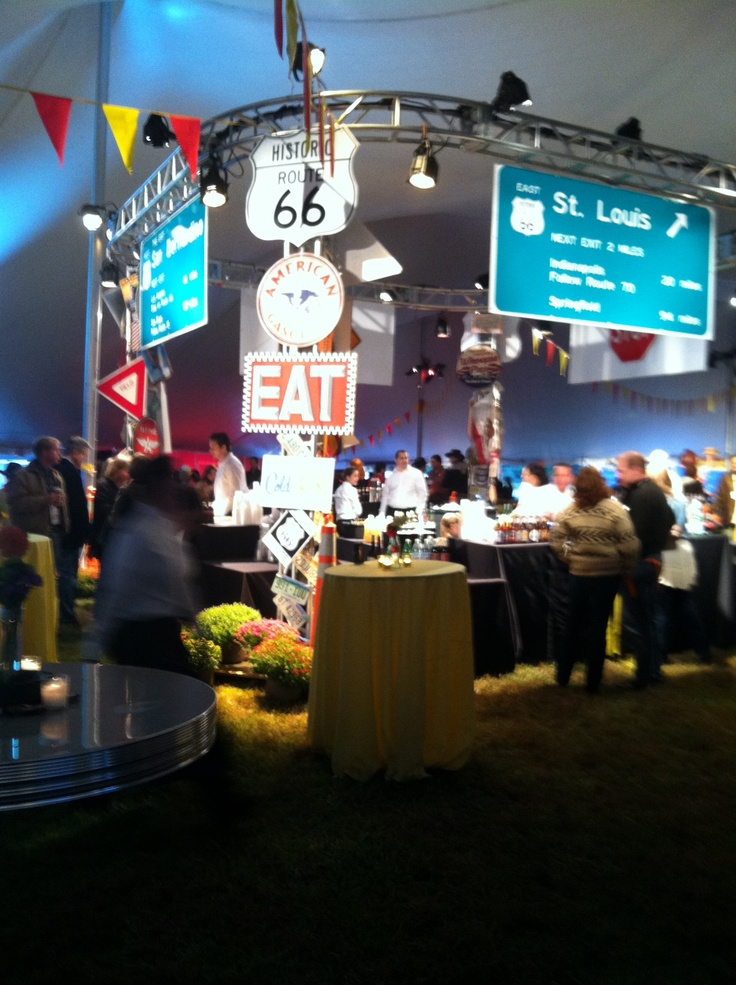 Route 66 Bar by Corinthian Events Bakers' Best Catering