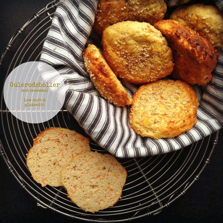 Gulerodsboller uden mel