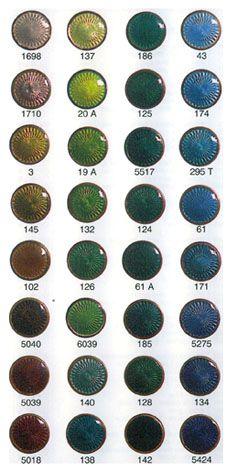 Schauer Transparent Jewellery Enamels (Part 2)