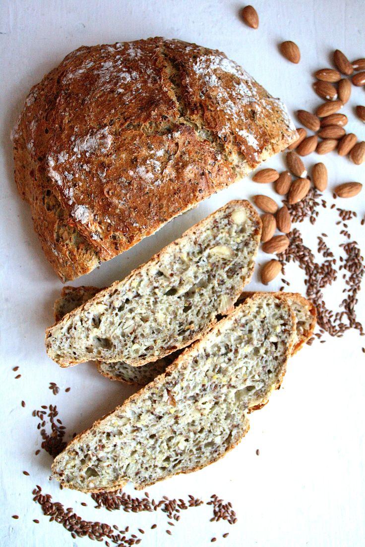 Eltefritt brød med frø og nøtter
