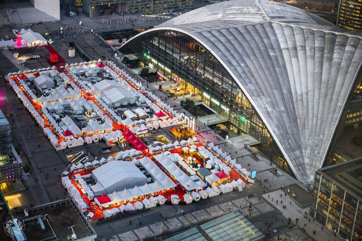 Le Marché de Noël (The Christmas Market) de La Défense (Paris)