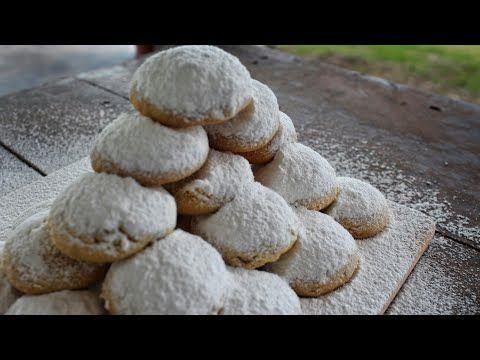 Κουραμπιέδες που λιώνουν στο στόμα (Νηστίσιμοι) - Vegan Cookies - YouTube