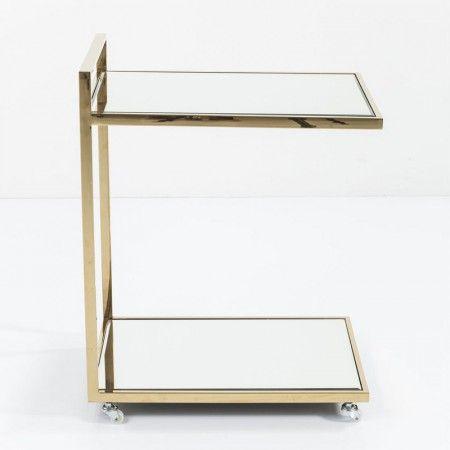 Bijzettafel goud - Kare Design Classy - LUMZ.nl