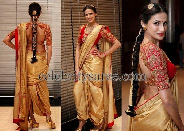 Shilpa Reddy Thread Work Blouse   Saree Blouse Patterns