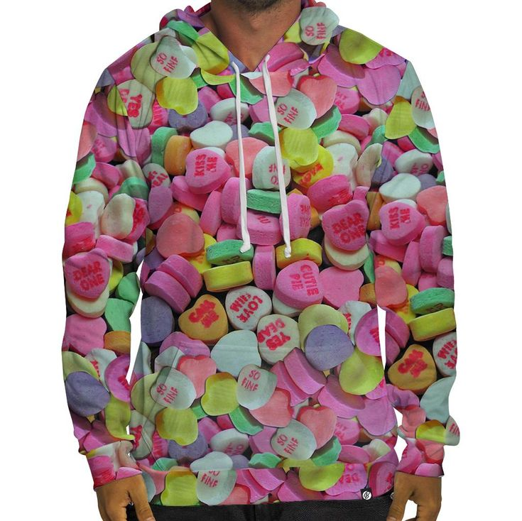 Beloved Shirts presents theHeart Candy Hoodie