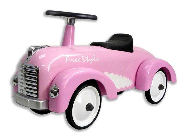 Gå bil til børn pink freestyle
