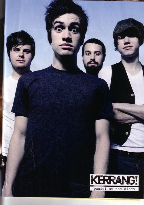 Pin by Christian O'Dowd on Panic At The Disco : Group Photos