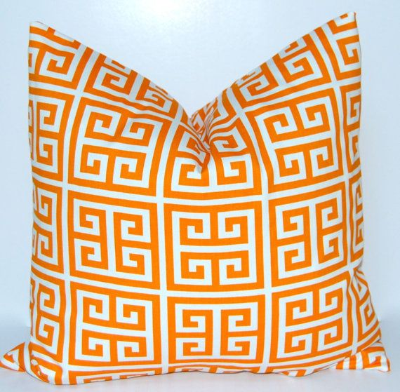 Pillows for sofa: Decorative Throw Pillow Cover 18 x 18 Inches by FestiveHomeDecor