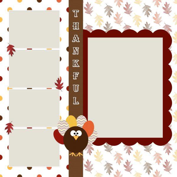 Scrapbooking TammyTags -- TT - Designer - DBS DigiScraps,  TT - Item - Quick Page, TT - Theme - Autumn or Thanksgiving