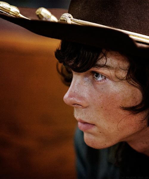 Chandler Riggs/Carl Grimes Imagines And Fics Dating Carl would involve